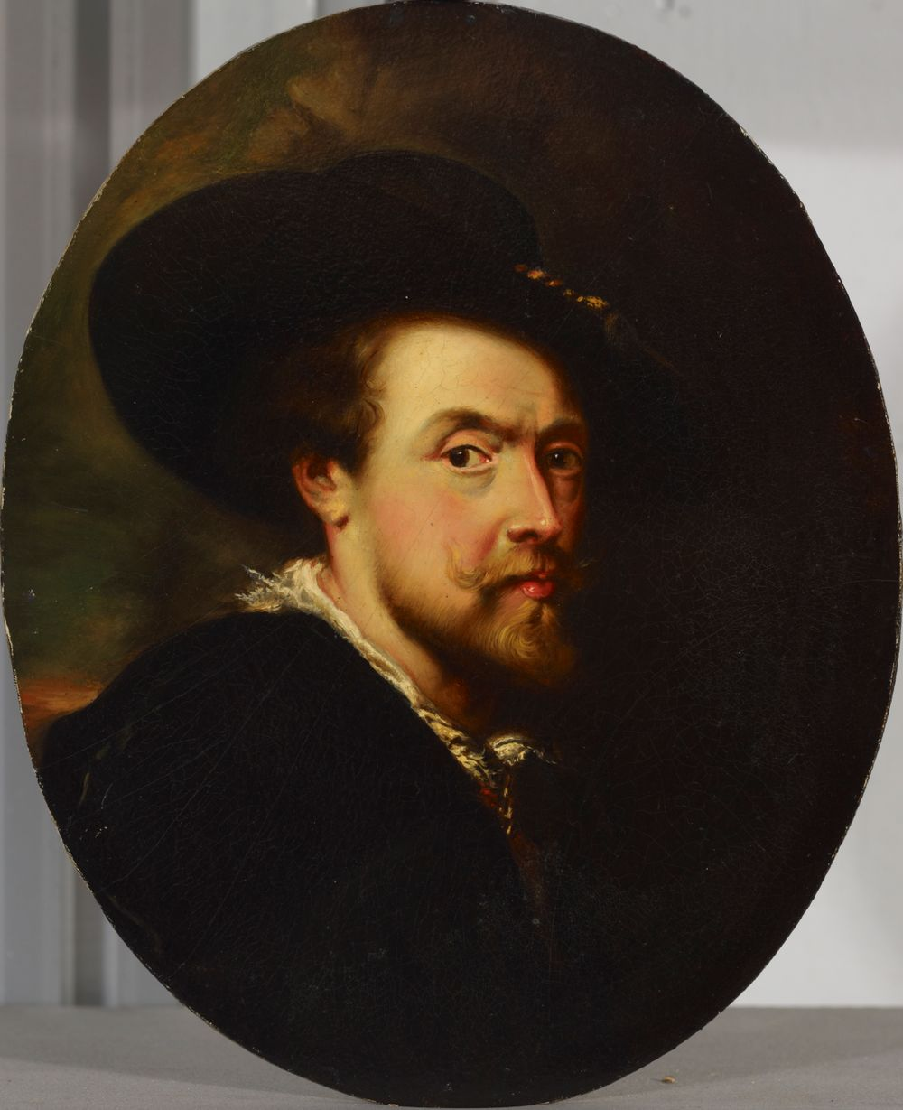 P. P. Rubens, Self-Portrait