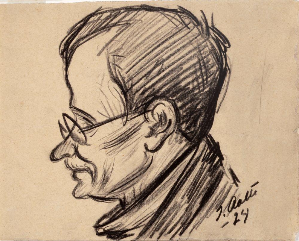 T.K.Sallinen, karikatyyri