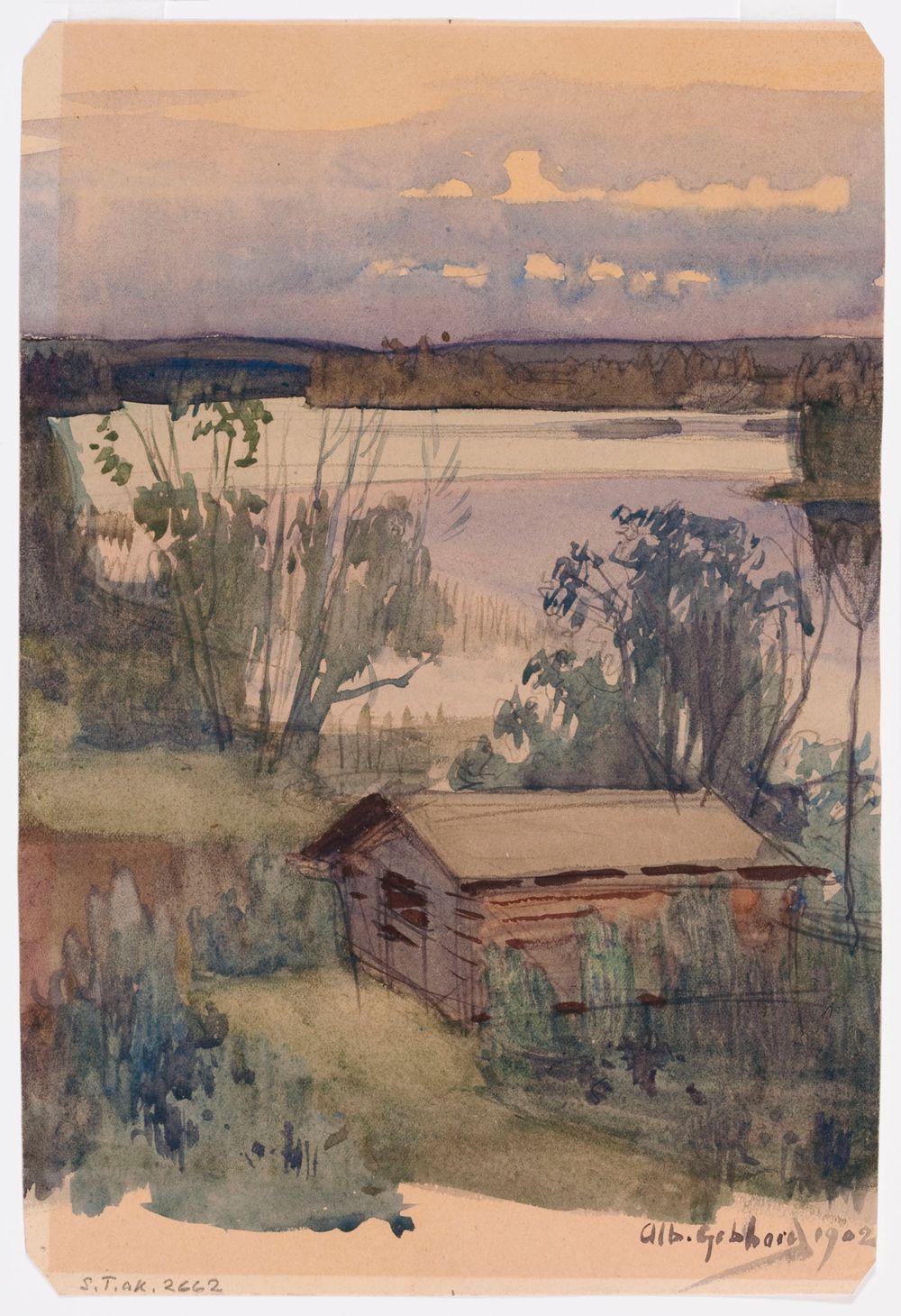 Maisema Nurmeksesta