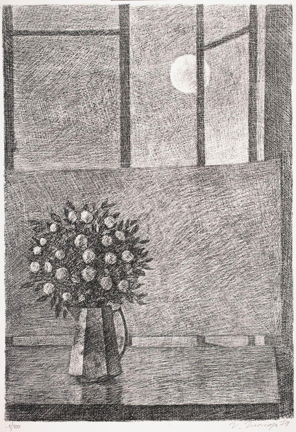 Kesäyön ikkuna