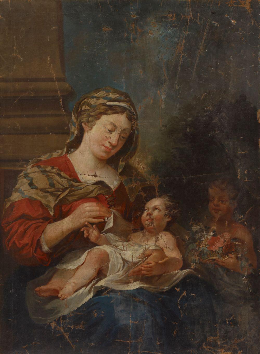 Madonna, Jeesus-lapsi ja Johannes