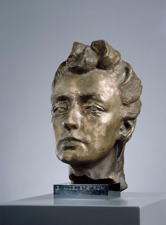 Head of Eva Cederström