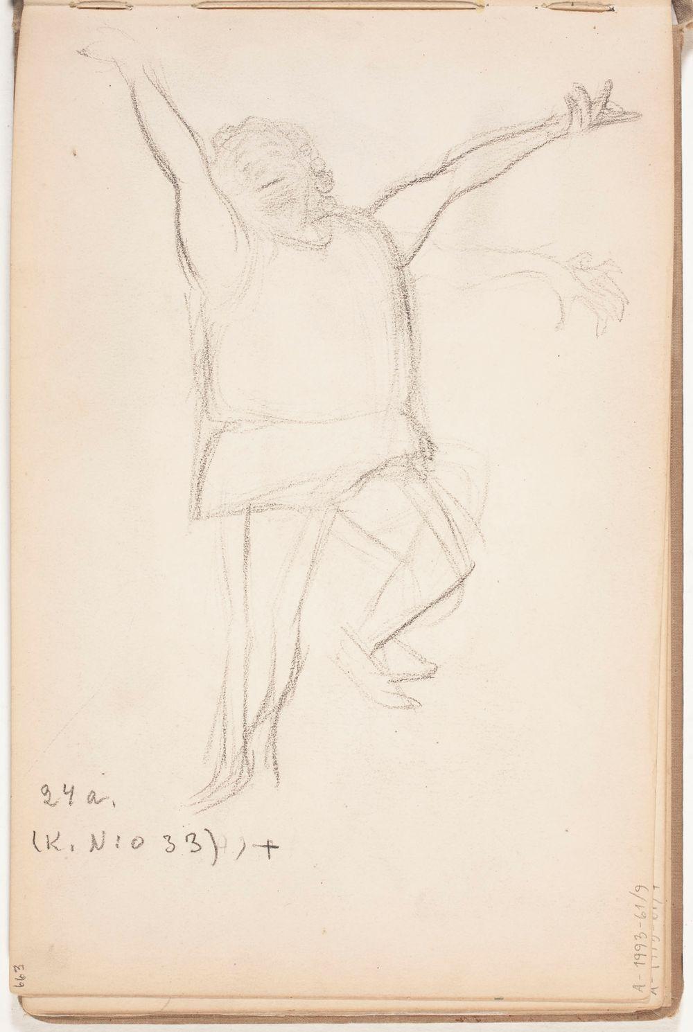 Tanssija. Todennäköisesti 1905-08