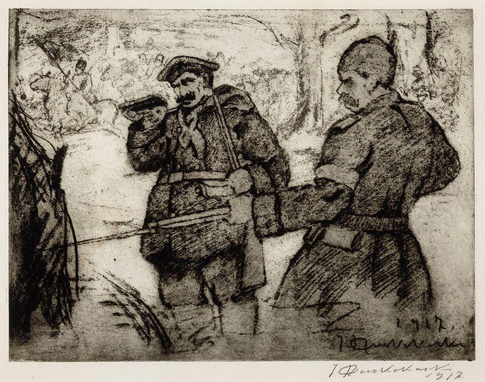 Kapinoivia venäläisiä sotilaita