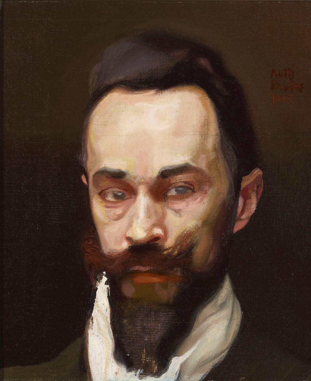 Portrait of the Artist S. Wettenhovi-Aspa
