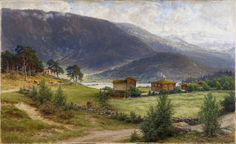 Norjalainen maisema