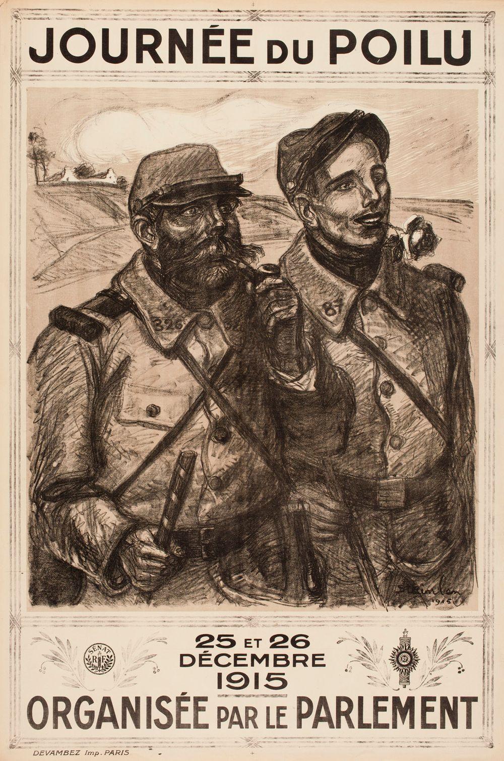 Journée du poilu 25 et 26 décembre 1915