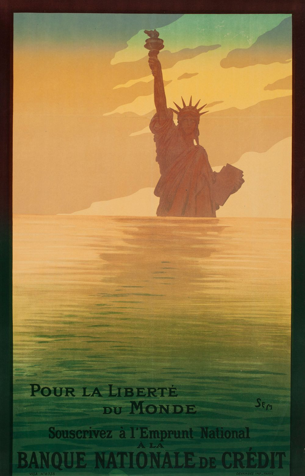 Pour la Liberté du Monde (juliste)