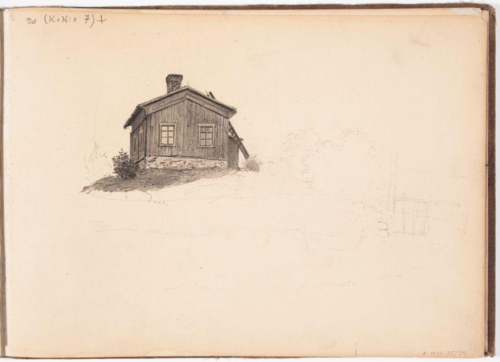 Talo. Todennäk. 1880-luvun jälkipuol.