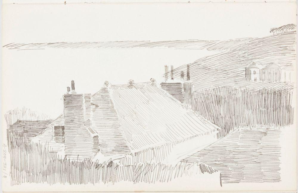 Maisema St. Ivesistä, n. 1887-1888
