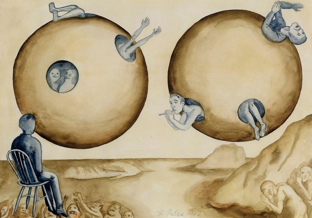 Surrealismi-sarja, Yli kasteisten vuorten