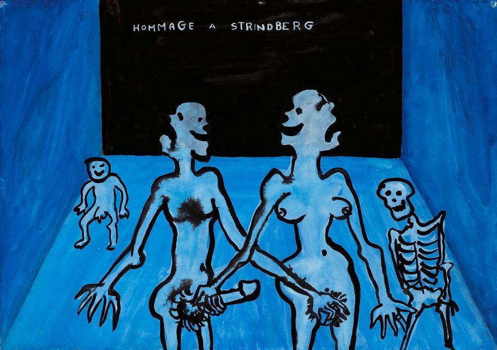 Hommage a Strindberg