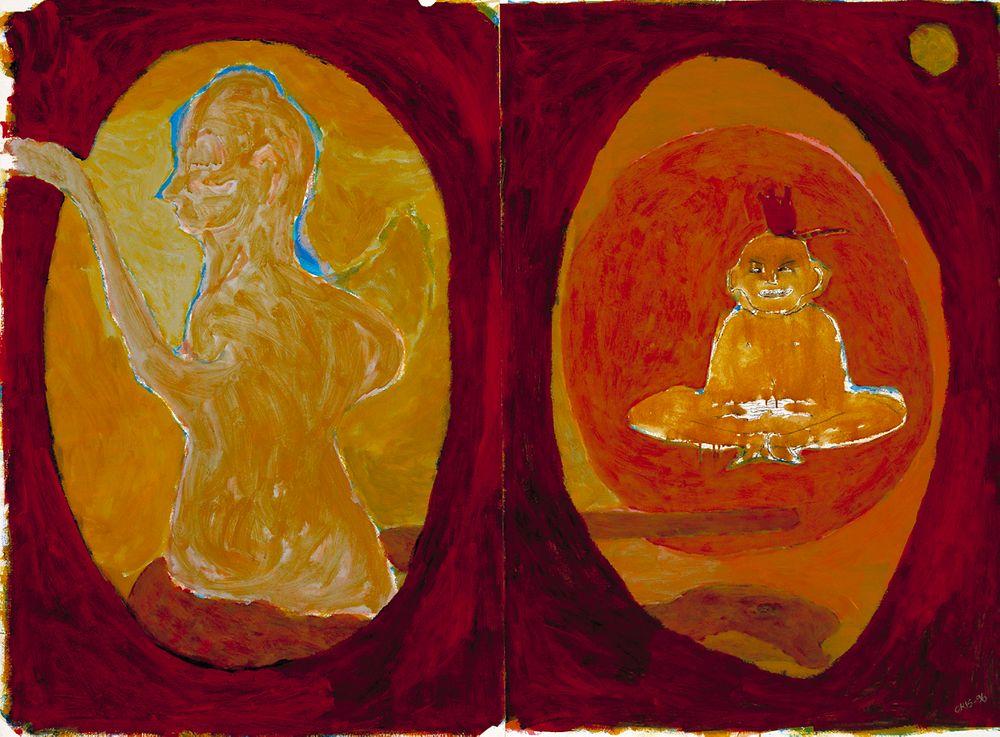 """Enkeli menneisyydestä , (sarjasta """"Pikku Buddha"""")"""