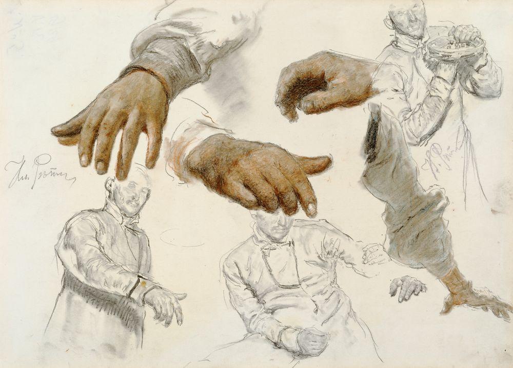 Person- och handstudie
