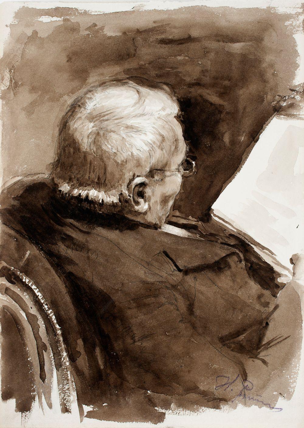 Porträttstudie