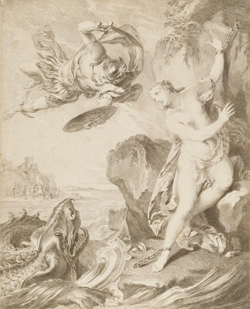 Perseus vapauttaa Andromedan