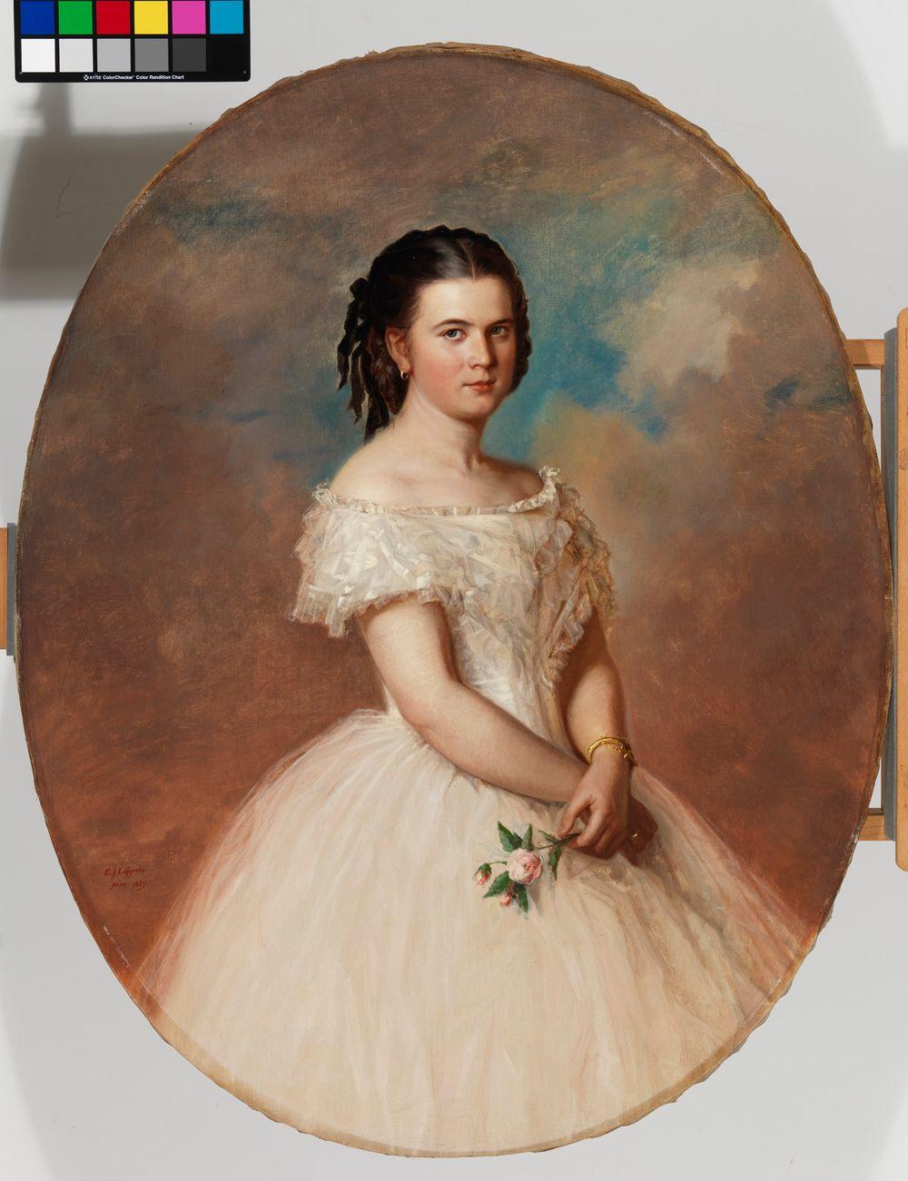 Neiti Maria Emilia Thunbergin muotokuva