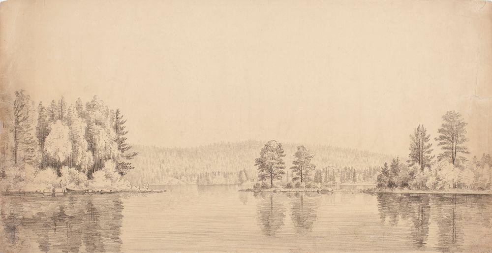 Järvimaisema Haminalahdelta
