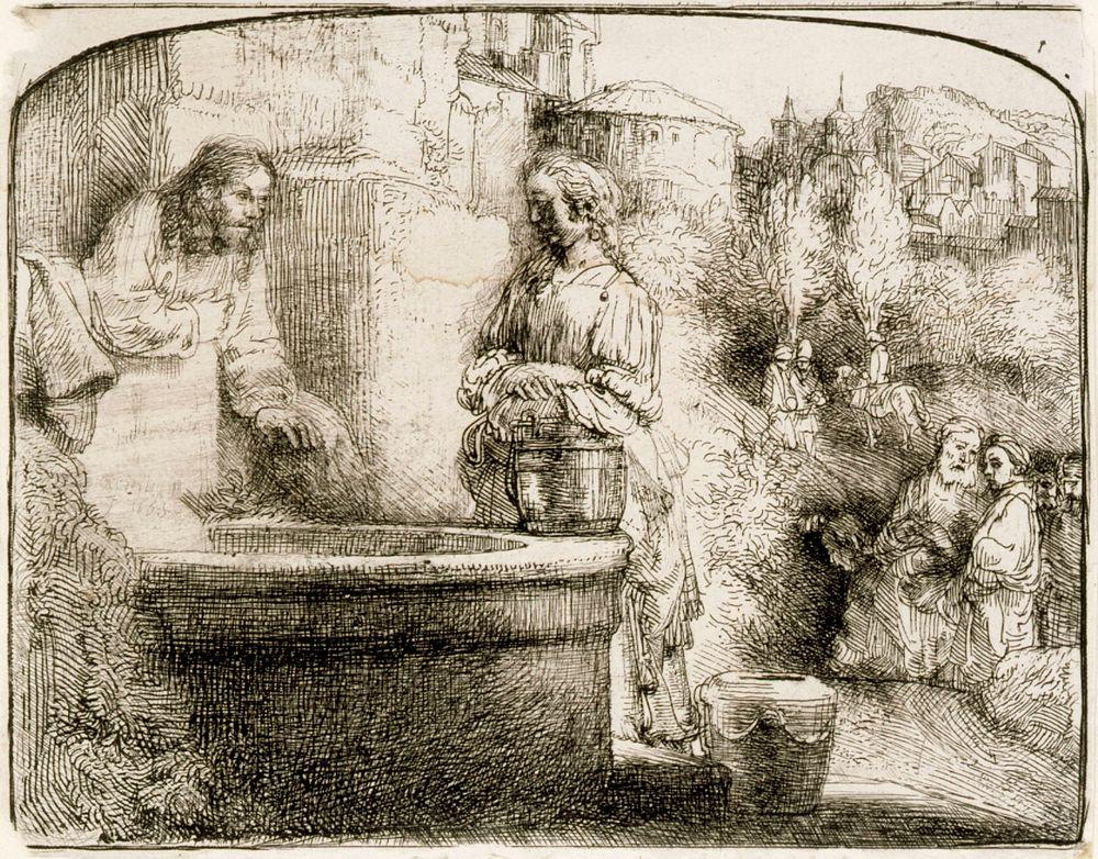 Kristus ja samarialainen nainen