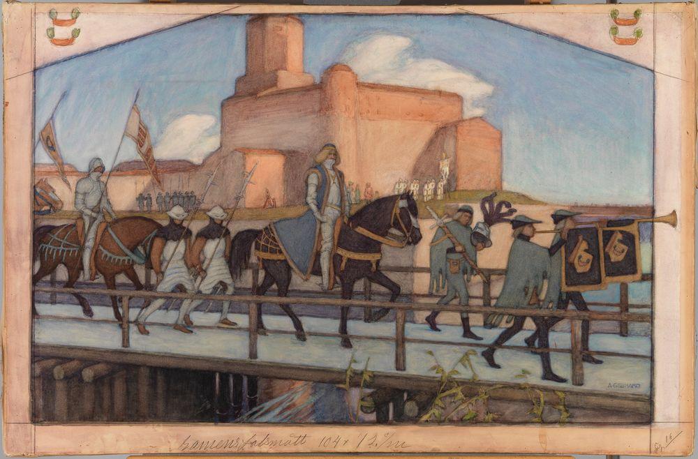 Kaarle Knuutinpojan lähtö Viipurinlinnasta