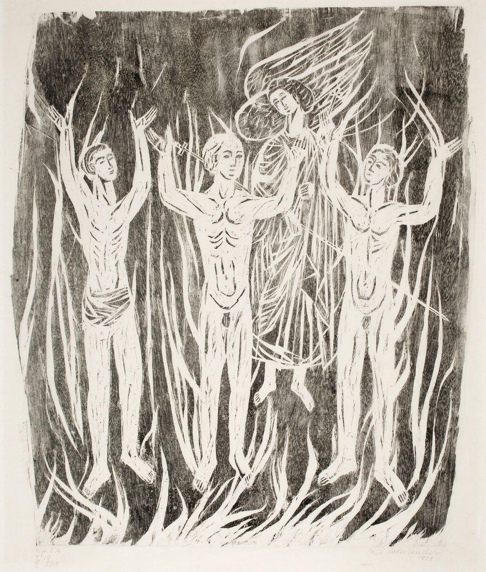 Kolme nuorukaista tulisessa pätsissä