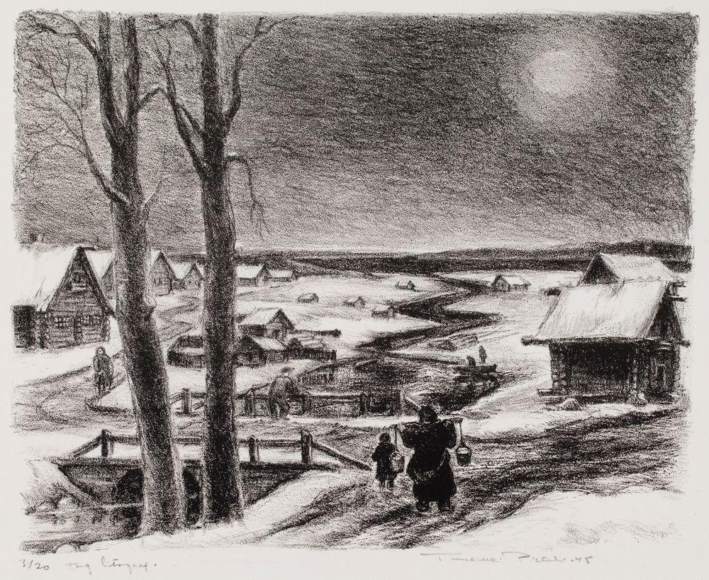 Marraskuun kuu, Lehmuspuro Itä-Karjalassa