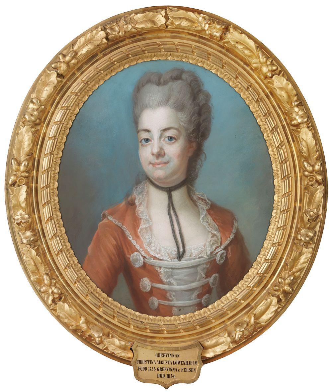 Kreivitär Christina Augusta Löwenhielm (1754-1846)