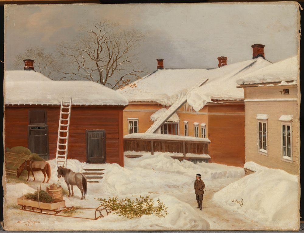 The Liljenstrand House in Winter