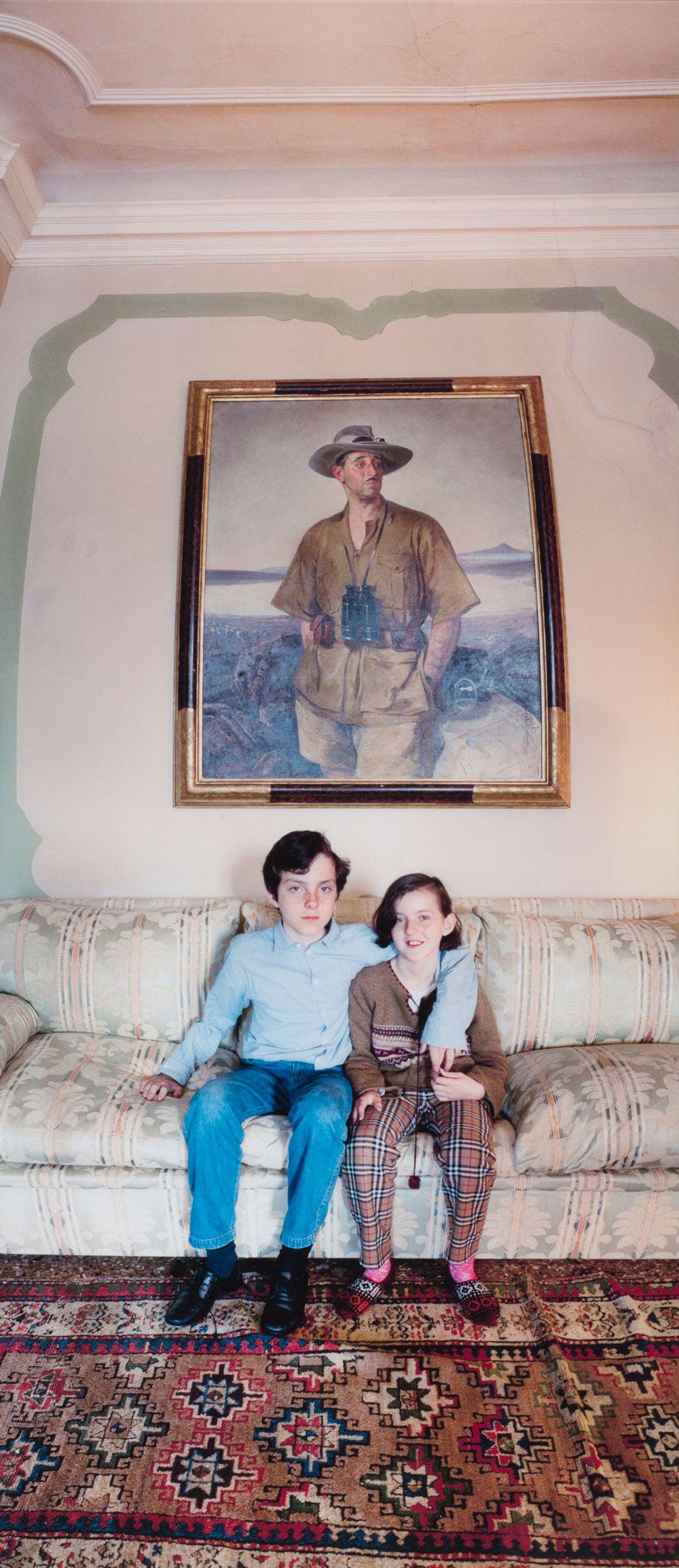 """Paroni Alberto Franchetin lapset, Venetsia, teemasta """"Veden kätkemiä huoneita"""""""