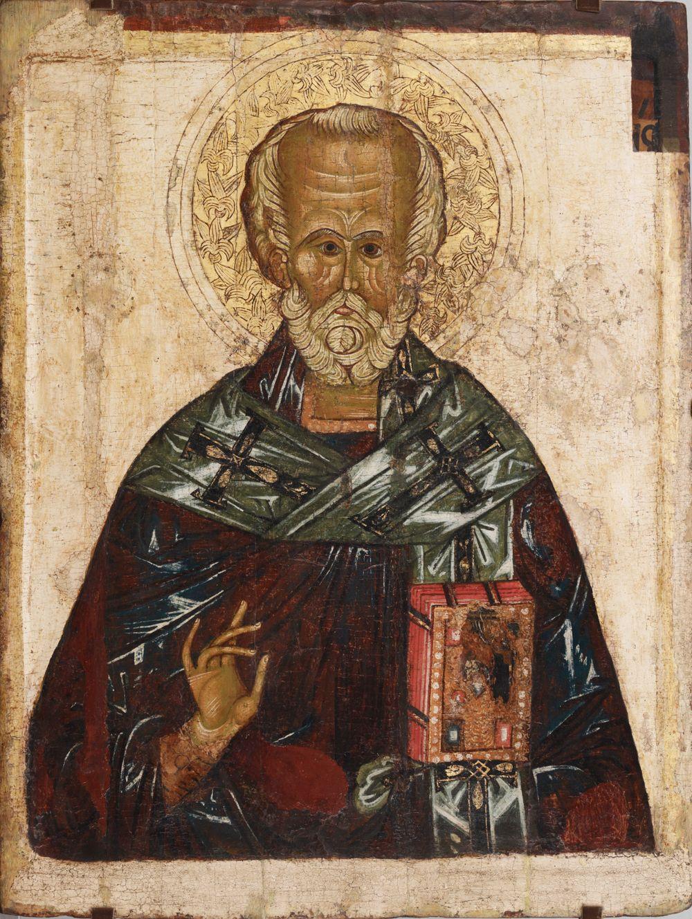 Pyhä Nikolaus, venäläinen ikoni