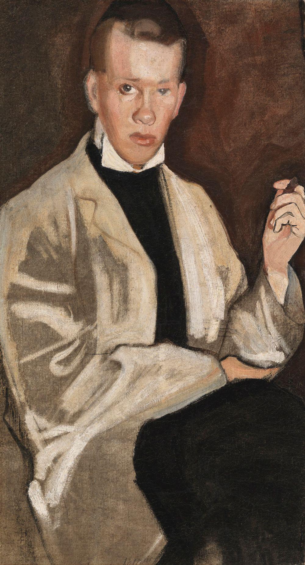 Ilmari Uotila (taiteilijan veljen muotokuva)
