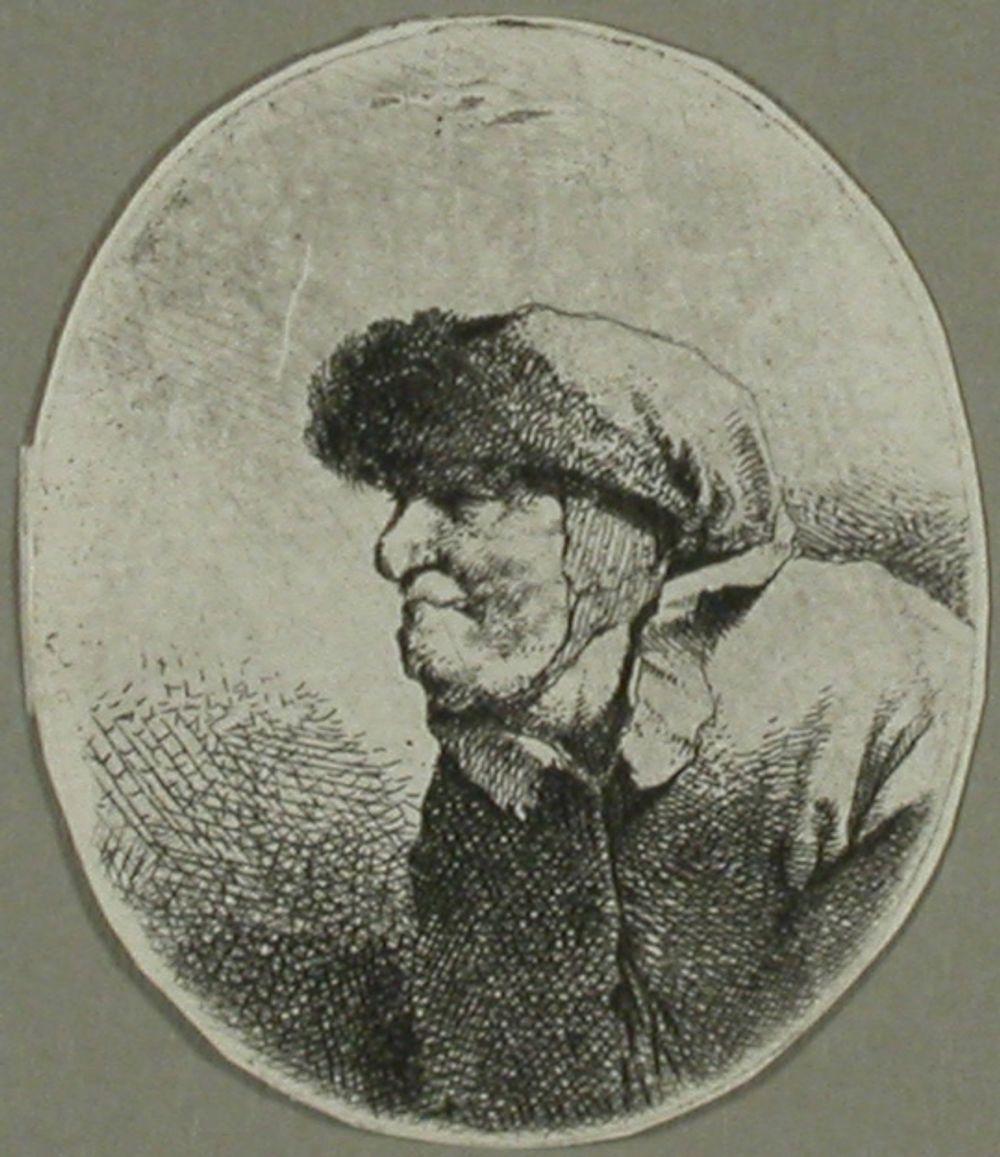 Vanha eukko (Buste de vieille)