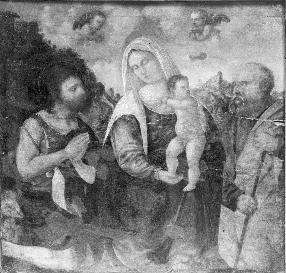 Neitsyt Maria, Jeesus-lapsi, Joosef ja Johannes Kastaja