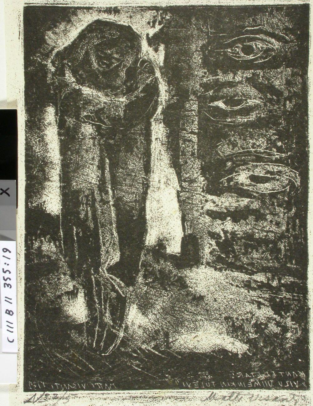 Kantelettaren kuvitusta (19) ; Vilu viimeinki tulevi