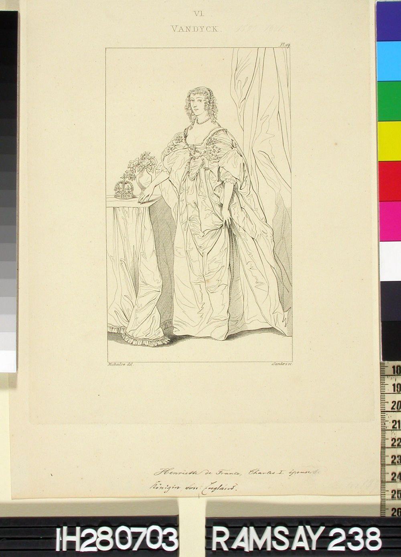 Englannin kuningatar Henrietta, Kaarle I:n puoliso