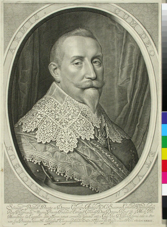 Ruotsin kuningas Kustaa II Adolf