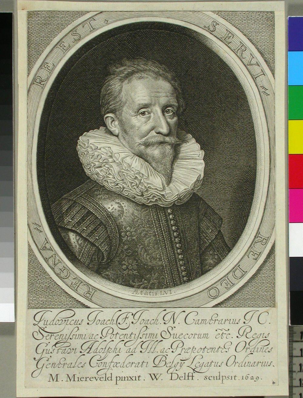 Ludvig Camerarius, Ruotsin lähettiläs