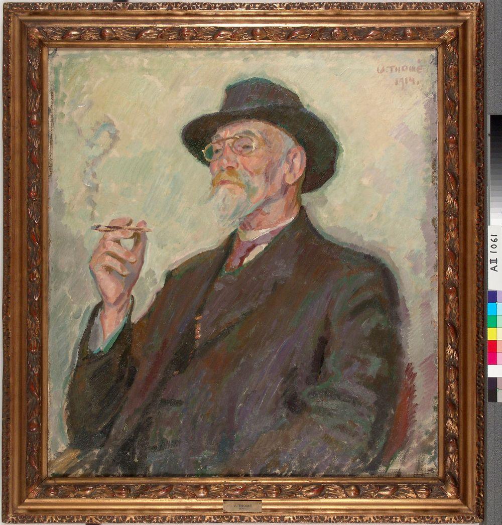 Metsänhoitaja, vapaaherra Ernst Wreden muotokuva