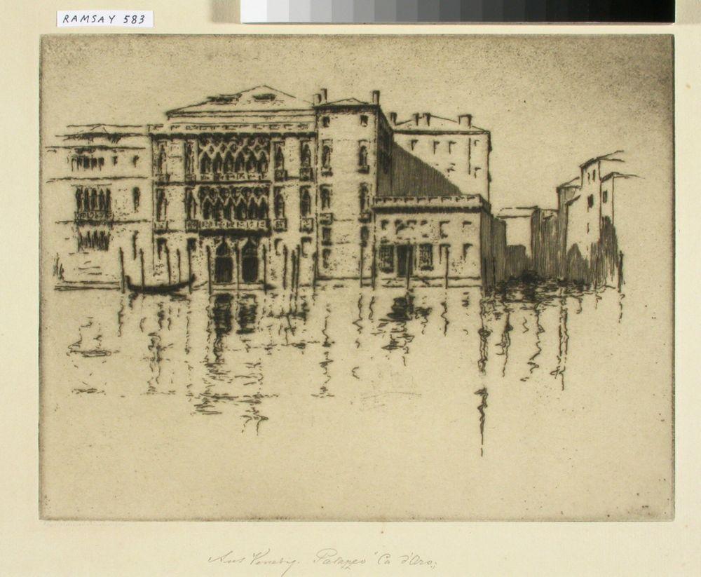 Palazzo Ca d'Oro Venetsiassa