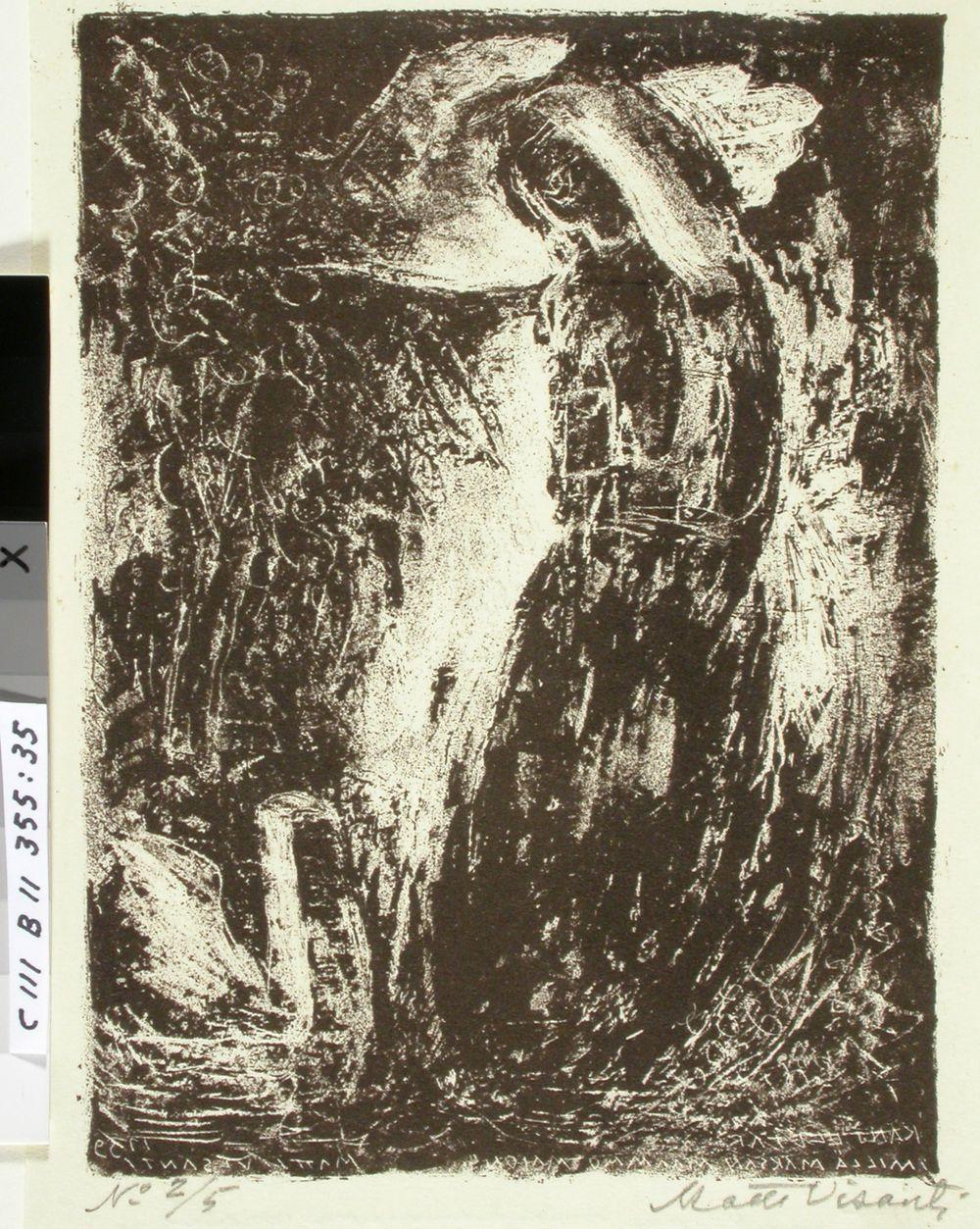 Kantelettaren kuvitusta (35) ; Millä maksan maammon maion