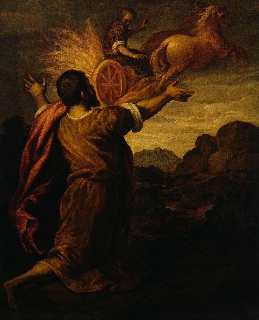 Elian taivaaseen nouseminen