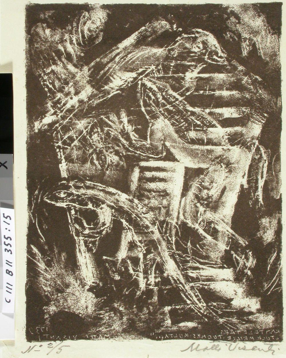 Kantelettaren kuvitusta (15) ; Kyll' on kystä aitassamme