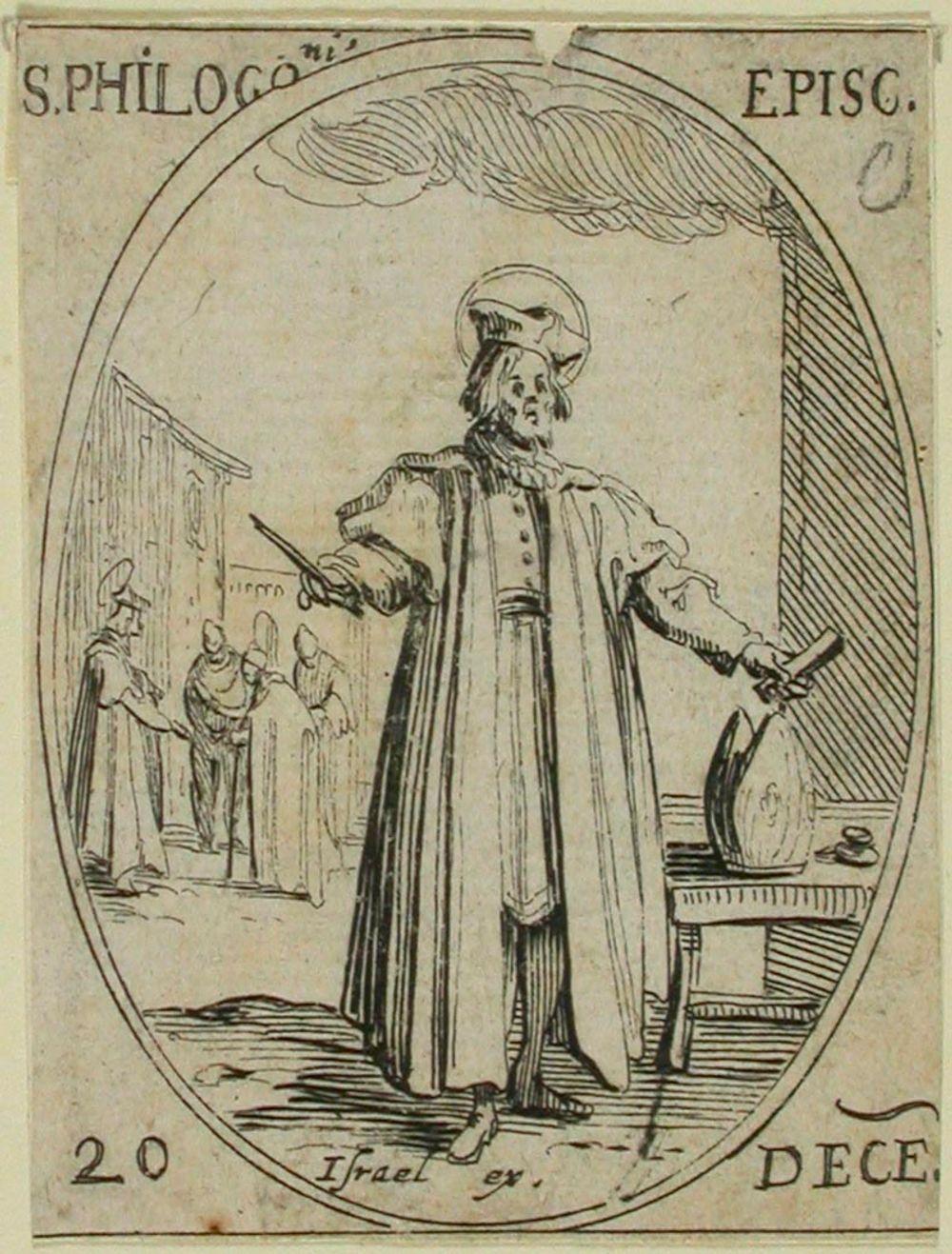 P. Philogonis (465) / Pyhimyskalenteri (15 kuvaa 124 levyn ja 490 kuvan sarjasta)