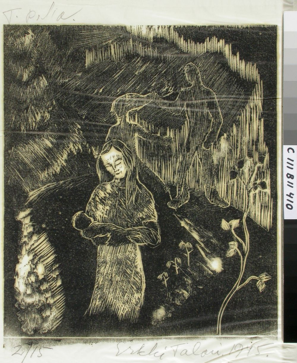Tulipa tukan repijä, kuvitusta Kantelettaren kehtolauluihin