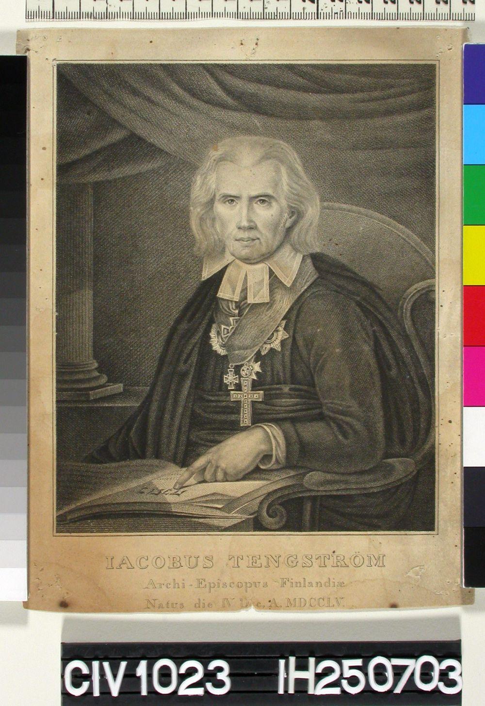 Arkkipiispa J. Tengströmin muotokuva