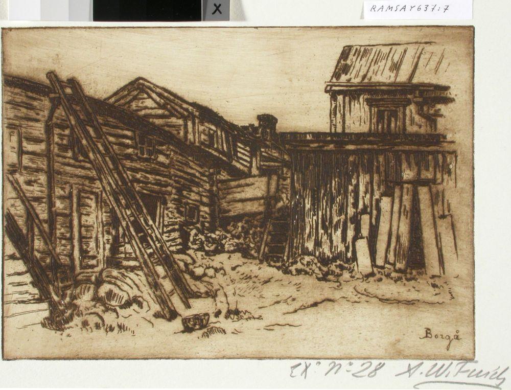 Vanha talo Porvoossa