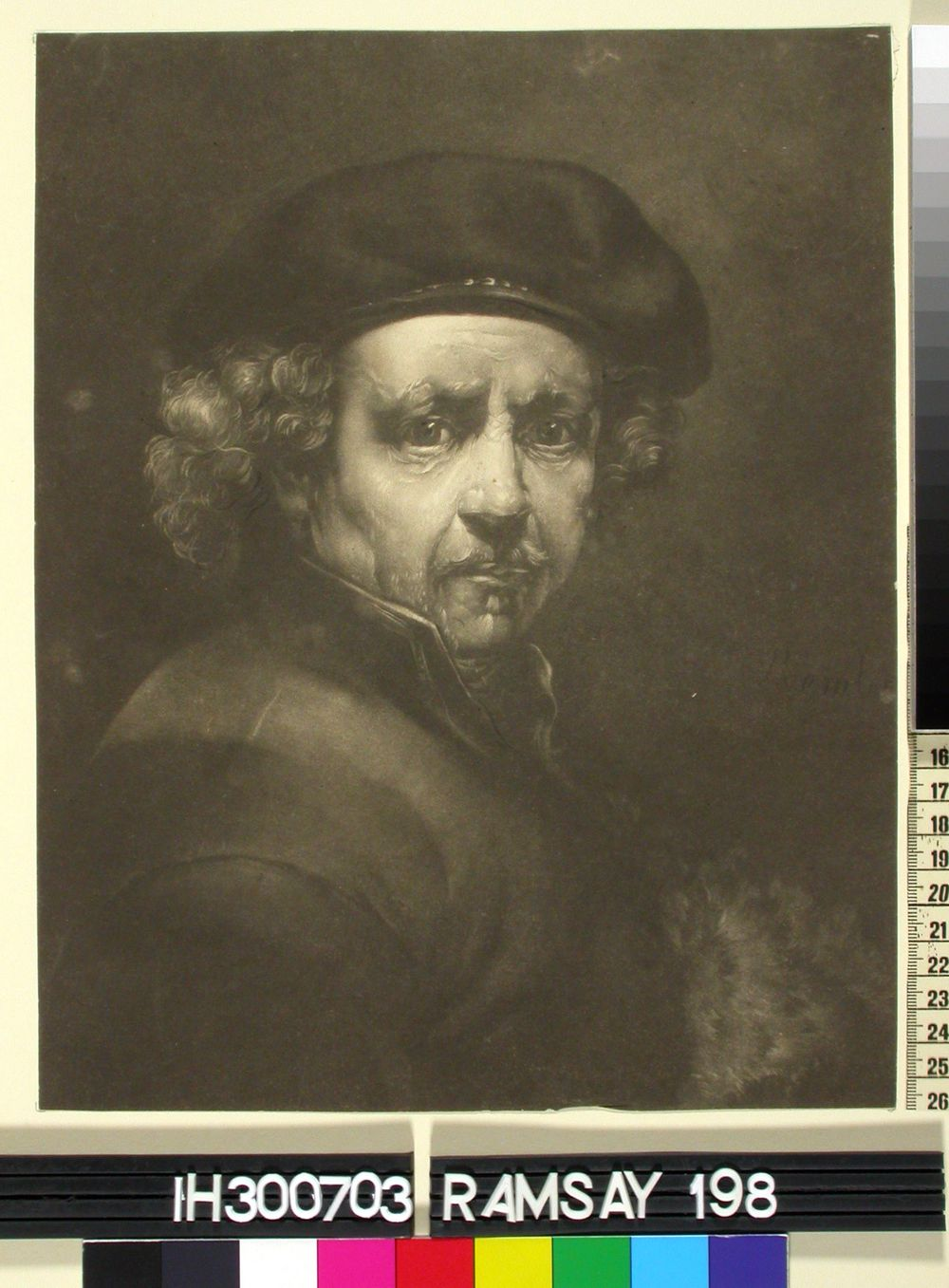 Rembrandtin omakuva