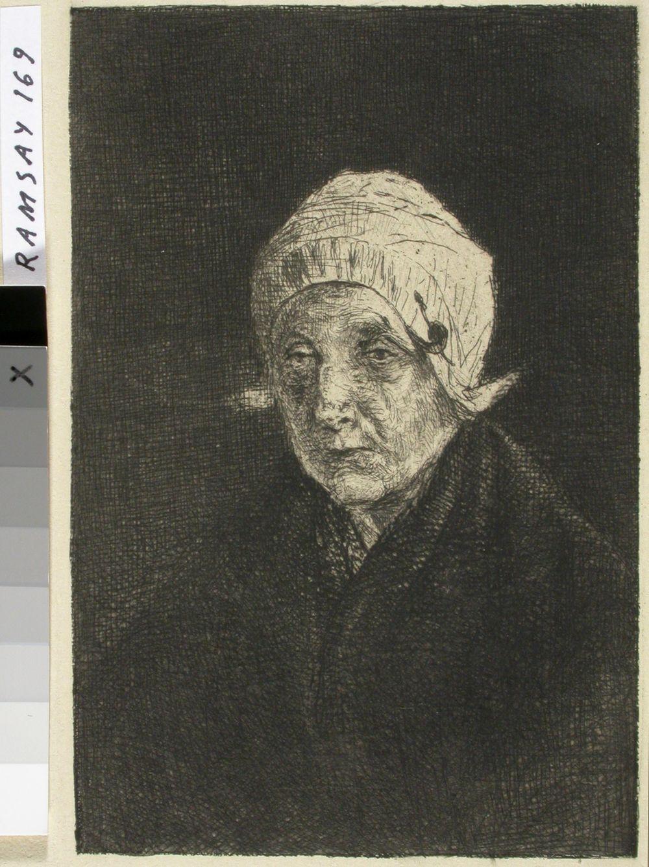 Vanhan naisen muotokuva