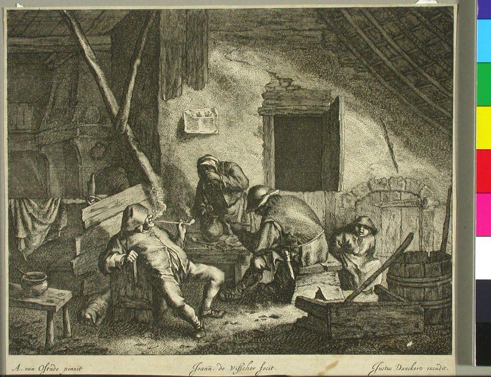 Tupakoivia talonpoikia
