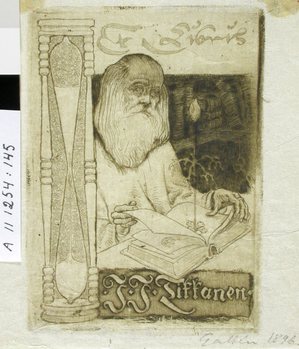J.J. Tikkasen exlibris